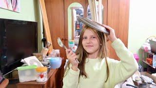 VLOG Ремон на кухне почти закончен Кира принцесса тарелок