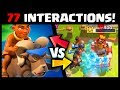 NEW LEGENDARY! RAM RIDER vs ALL CARDS 77 Interactions | Clash Royale Ram Rider Gameplay