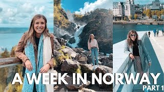Oslo & Bergen Norway Travel Vlog: Part 1