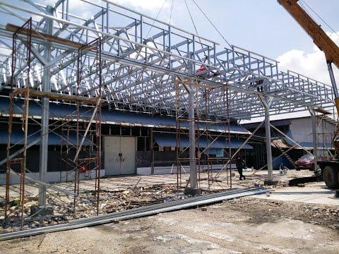 Multi Truss System Building Malaysia | Steel Trusses Design