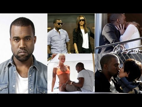 Girls Kanye West Slept With!