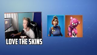 Tfue GIFTED *RARE* Airheart & Cuddle Team Leader Skins | Fortnite Epic & Funny Moments