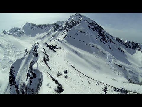 Krasnaya Polyana, Sochi aerial video - DJI Phantom 2 + GoPro Hero3 HD