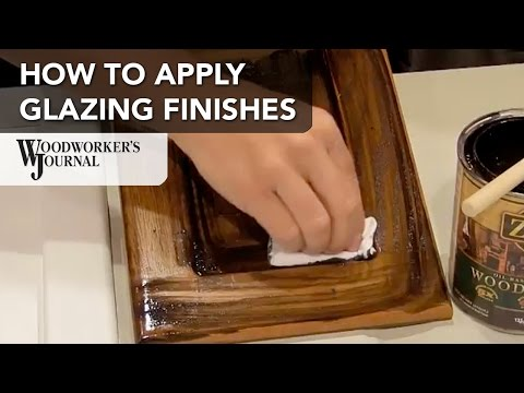 How to Apply a Glazing Finish with Wood Stain