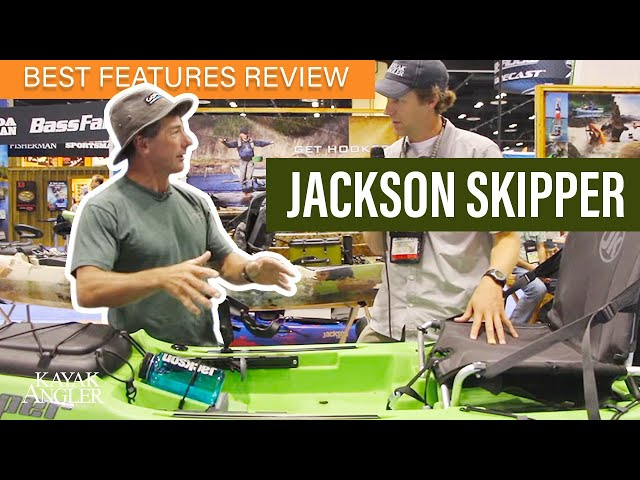 Jackson Skipper 🎣 Fishing Kayak 📈 Specs & Features Review and Walk-Around 🏆