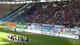 7:2 FC Hansa Rostock vs Unterhaching , Der Schluss !