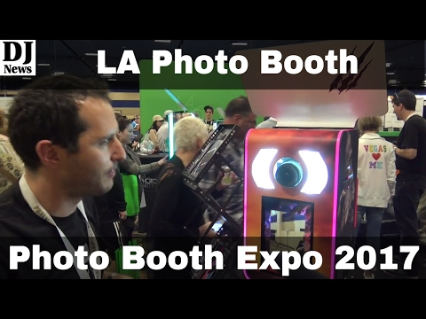 Photo Party Station from LA Photo Party | Photo Booth Expo 2017 | Disc Jockey News