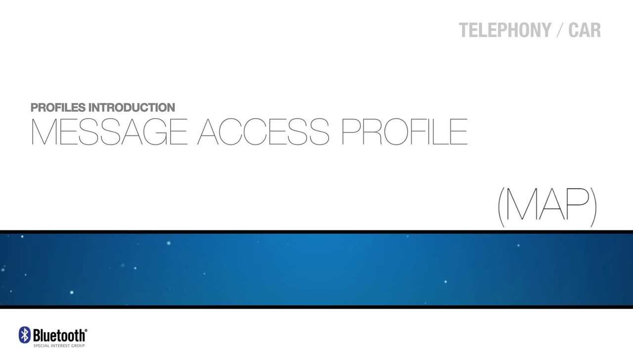 Message Access Profile (MAP)   YouTube