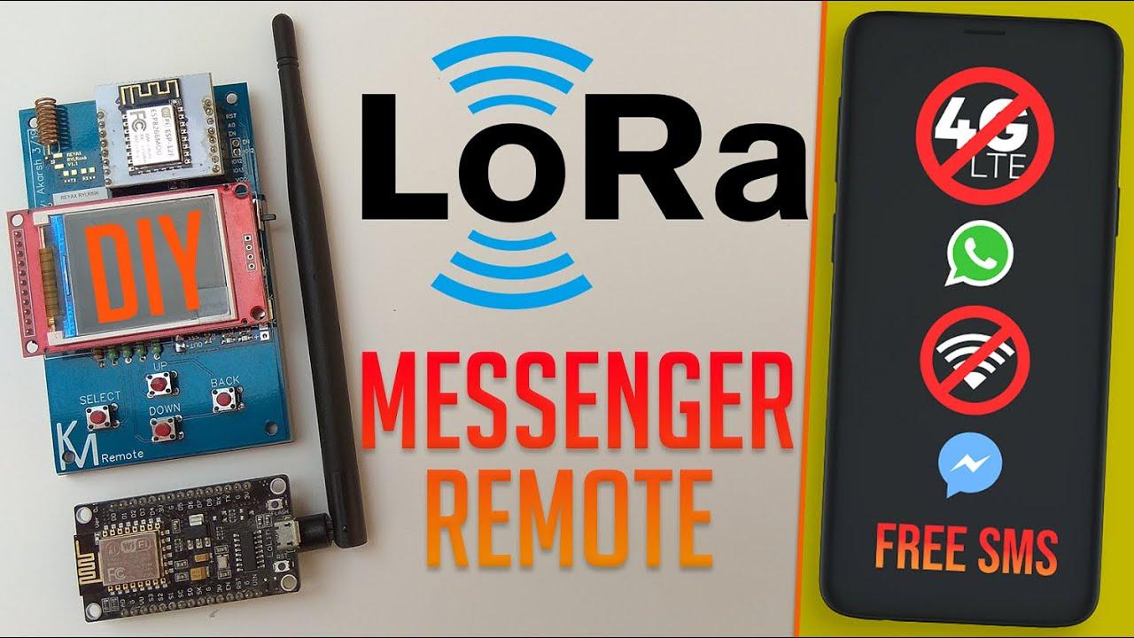 Control Home Appliances Over LoRa   LoRa Remote Control