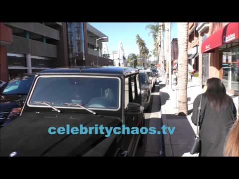 Kylie Jenner nearly gets in car accident in beverly hills
