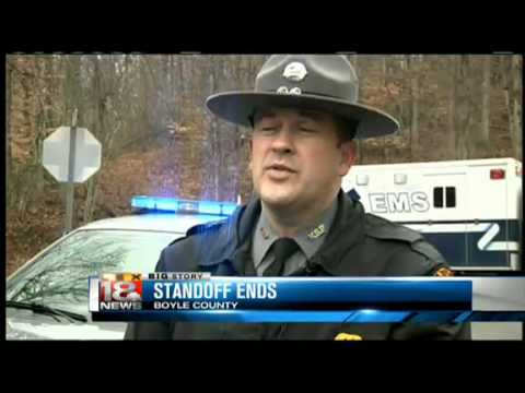 Boyle County Standoff Ends