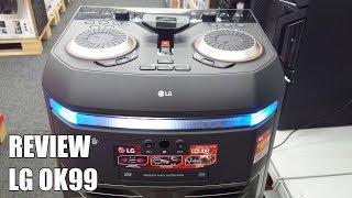 Review LG OK99 Nuevo Altavoz Bluetooth para fiestas 2018