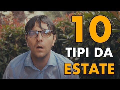 10 TIPI DA ESTATE - PARODIA - iPantellas