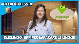 Duolingo: come imparare le lingue straniere in modo facile  (01x028) 📺 #TechPrincessTV screenshot 1