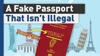 A Fake Passport Tнat Works, sort of