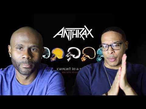 Anthrax - Caught In A Mosh (REACTION!!!)