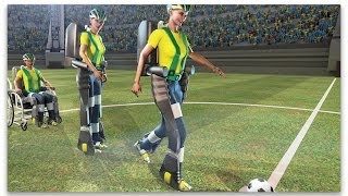 World Cup exoskeleton allows paraplegic to walk again thumbnail
