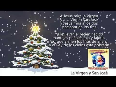 La Virgen y San José (con Letra)