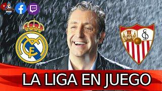 🔴DIRECTO | REAL MADRID - SEVILLA con EL CHIRINGUITO | LaLiga en juego