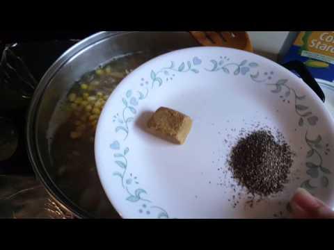 سوپ از گوشت مرغ chicken soup
