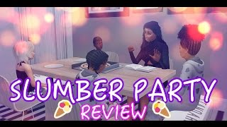 THE SIMS 4 SLUMBER PARTY MOD OVERVIEW + GAMEPLAY