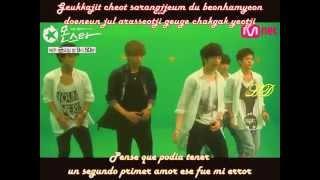 Junhyung & BTOB - First Love [Sub_Español+Romanizacion]