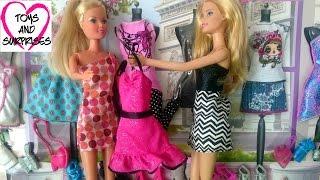 Мультфильм для девочек: Кукла Штеффи и Барби Магазин модной одежды для кукол Барби Barbie Fashion(, 2015-10-31T21:30:59.000Z)