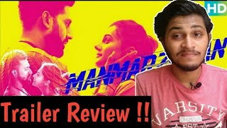 Manmarziyan Official Trailer | Trailer Review | Trailer Reaction | Manmarziyan Honest Trailer Review