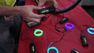 SF Bike Expo 2011: Bike Glow(www.BikeWearWorld.com and www.uRide.tv are on location in San Francisco for the annual SF Bike Expo. There are tons of vendors, participants and riders in ..., 2011-11-15T03:14:06.000Z)