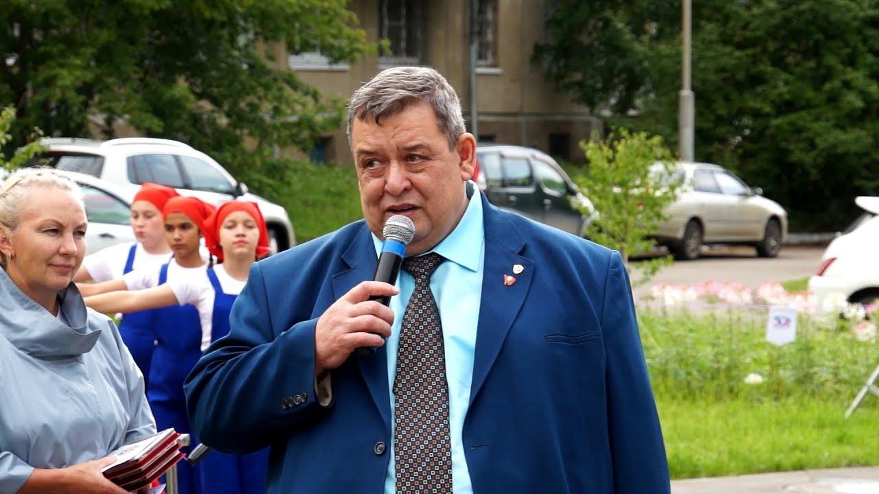 Торжественное открытие сквера «Комсомольский»
