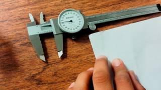 Calibrador Vernier de Caratula