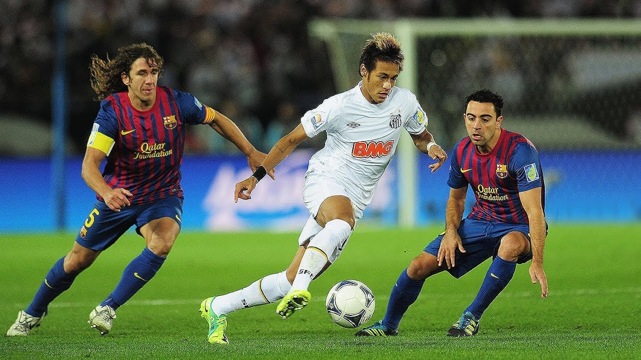 Download Favelas Won't Forget Neymar at Santos..
