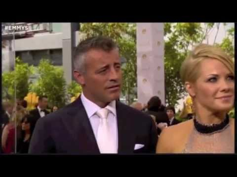 Matt LeBlanc and Andrea Anders  66th Annual Emmy Awards Red Carpet