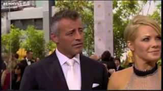 Matt LeBlanc and Andrea Anders - 66th Annual Emmy Awards Red Carpet