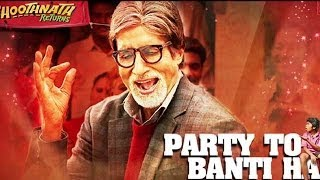 Bhoothnath Returns | Amitabh Bachchan at the song launch of the movie