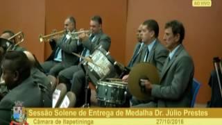 Sessão Solene - Marcelo Murat e José de Almeida Ribeiro - 27-10 - 2016