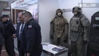 Новейшее вооружение и экипировку Росгвардии показали на выставке в Москве