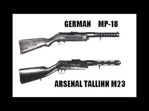 Arsenal Tallinn M23 Submachine Gun