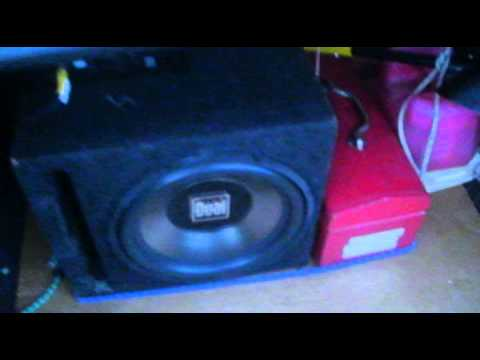 Dual XPE2700 and Dual SD12 test Bass I love you plus how the sub is ...