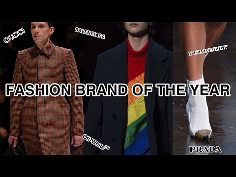 The Best High-End Fashion Brand In 2018