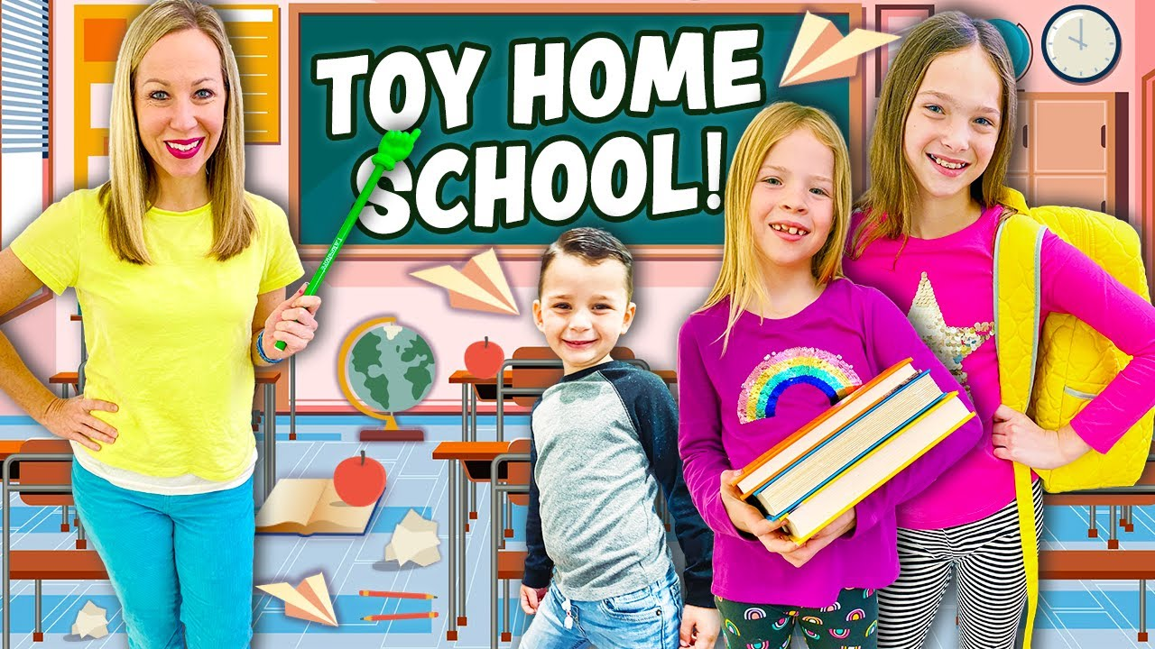 First Day of TOY HOMESCHOOL !!!