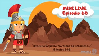 MINI LIVE IPNONLINE Ep 60: Orem no Espírito (Lic. Davi Medeiros) 14/11/2020