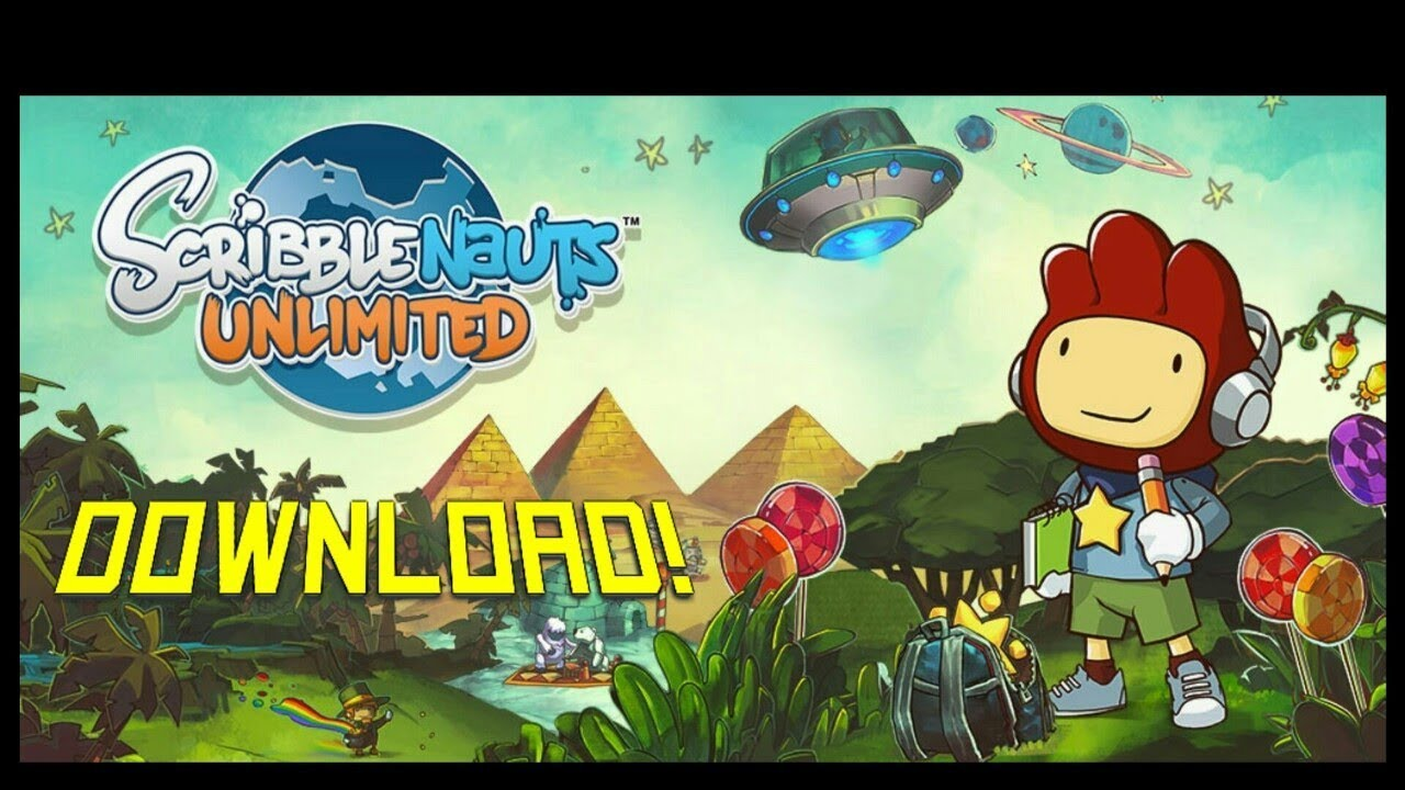 scribblenauts unlimited come
