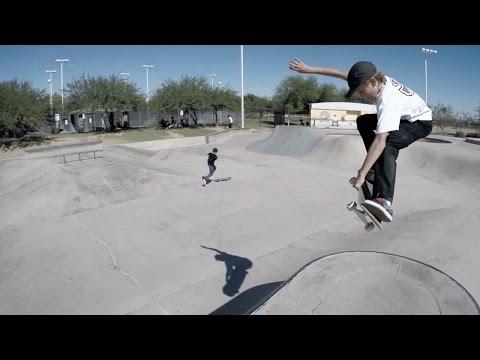 Field Trip: Goodyear Skatepark AZ - with Keegan Palmer Patrick Ryan & CJ Collins