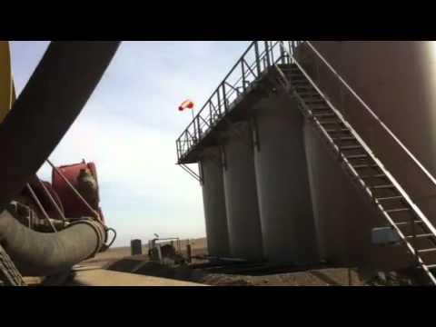 Nd oilfield water trucking