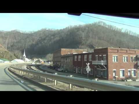 Drive through of Matewan, West Virginia, in Mingo County.