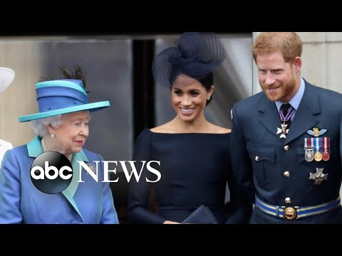 Prince Harry and Meghan Markle will no longer be working royals