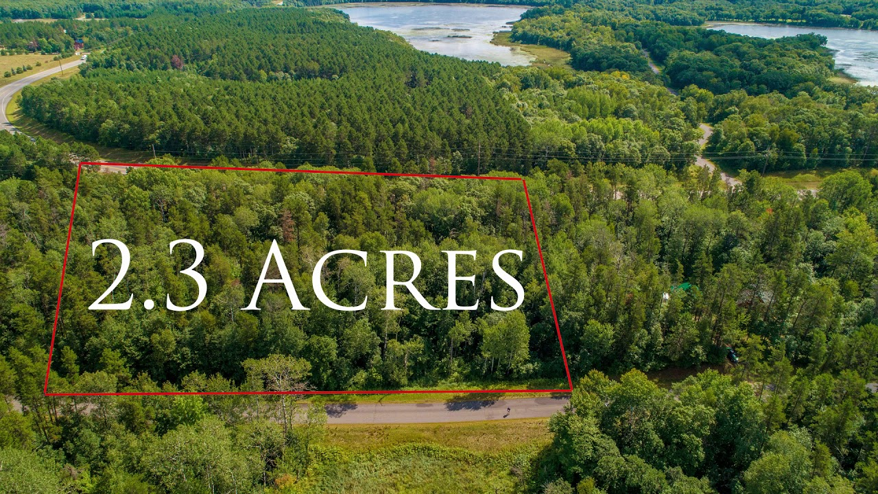 2+ Acres in MN Lake Country! Thick Trees!