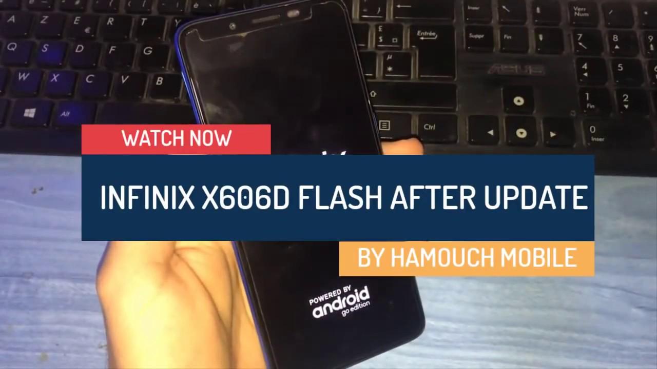Flash infinix x606d after Update Failed