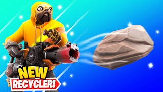 *NEW* RECYCLER GUN in Fortnite (SECRET UPDATE)